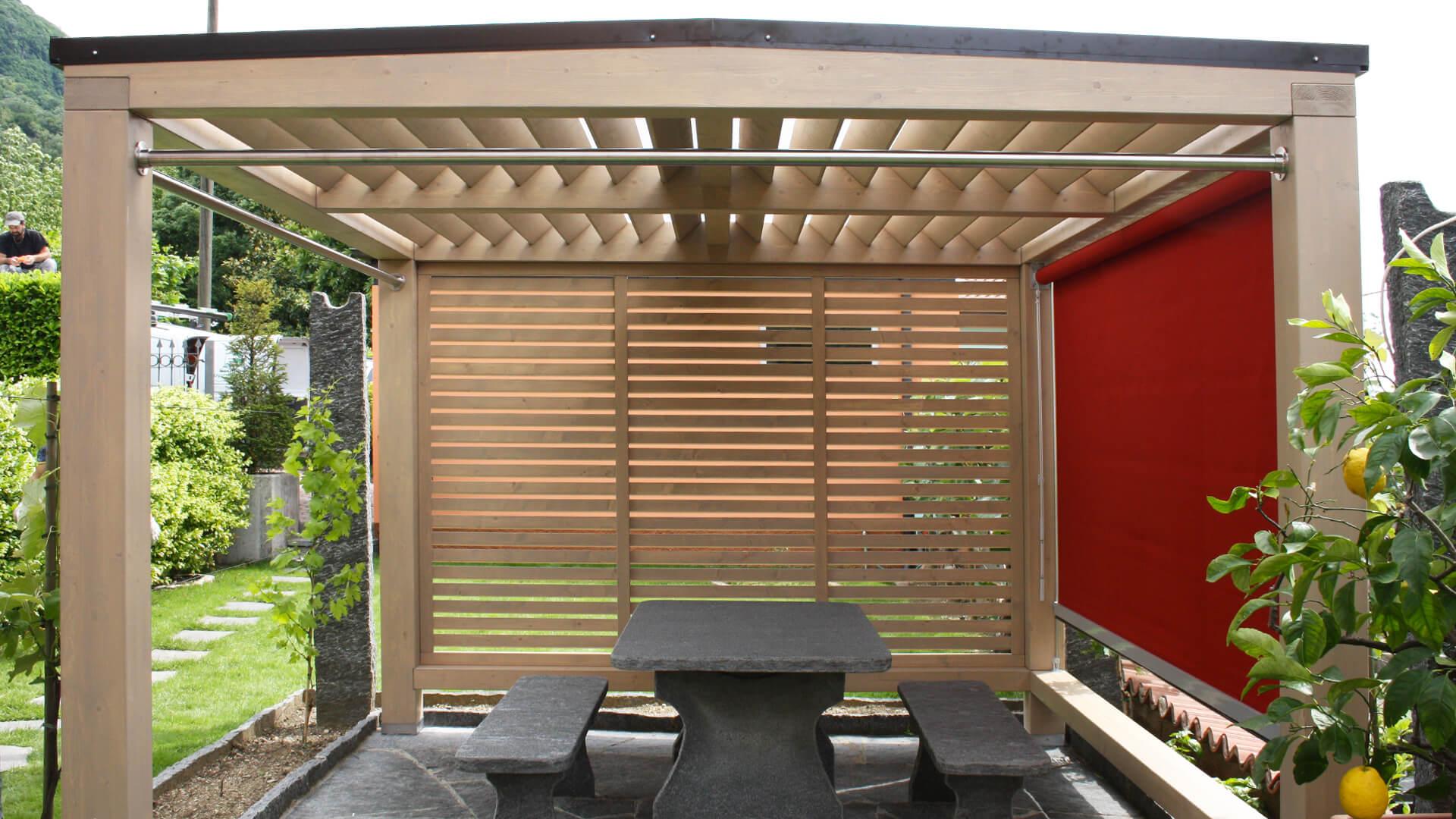 Realizzazione case passive e strutture in legno ab legno for Progetto gazebo in legno pdf