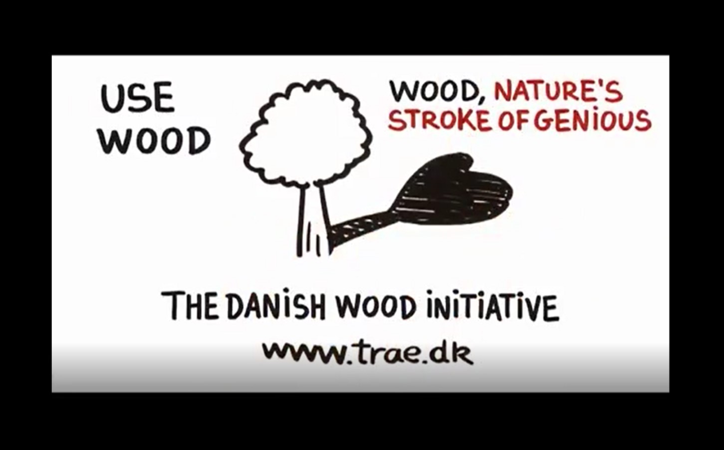 video sul legno del Danish wood Institute